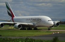 Transport international, A380, Emirates